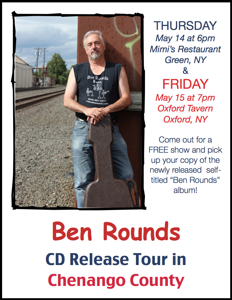 Ben Rounds Album Release Tour Continues