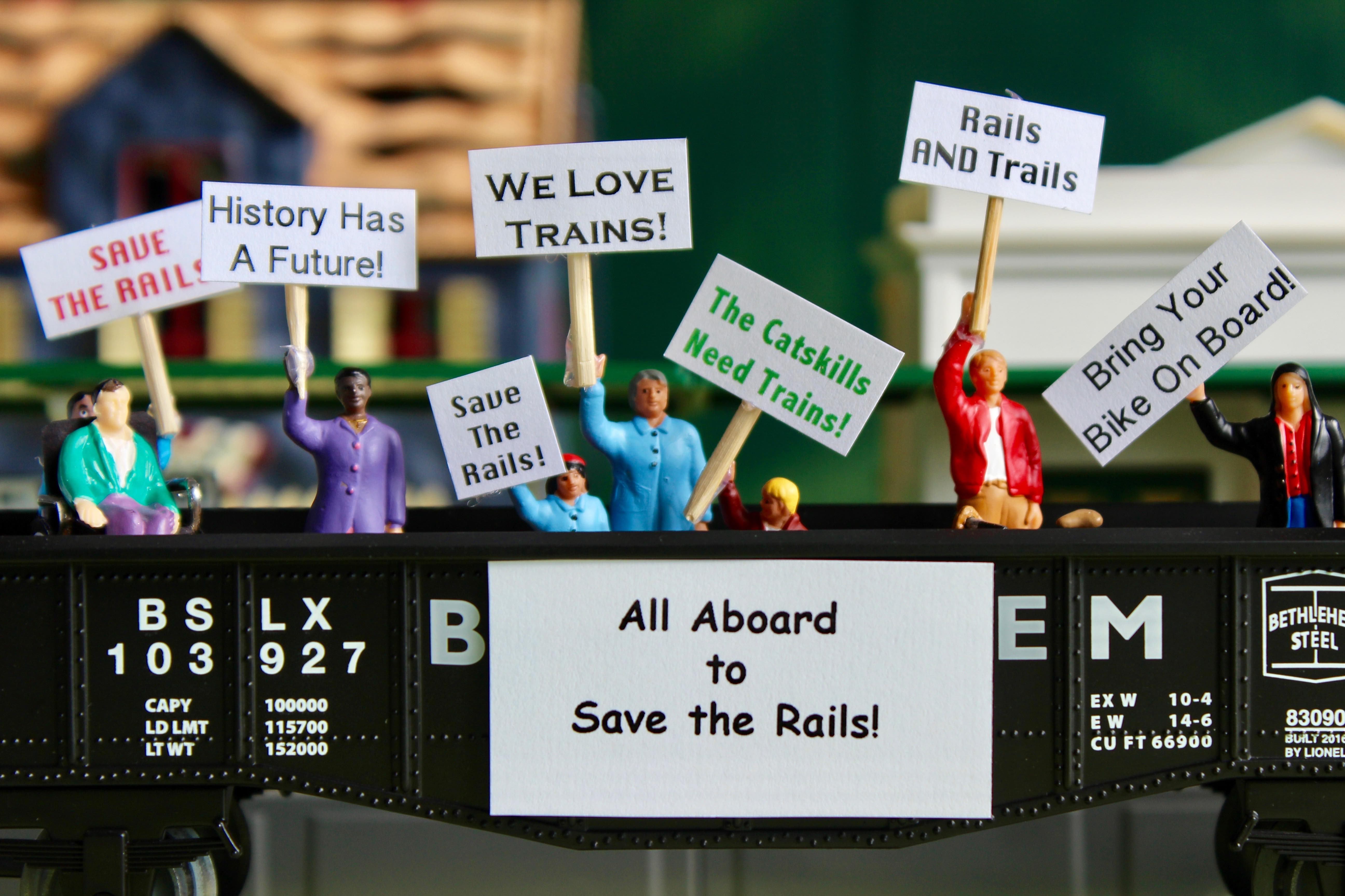 Save the Rails model on display